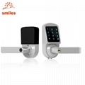 Fashion Smart Keyless Digital Electronic Touchscreen Keypad Lever Lockset For