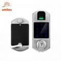 Touchscreen Keyless Smart Biometric Fingerprint Deadbolt Door Lock With Password