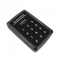 125Khz/13.56mhz Touch Keypad Standalone Security Access Control Systems 2