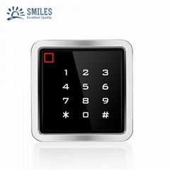 Waterproof IP68 Touch Screen Metal RFID Access Control With Wiegand