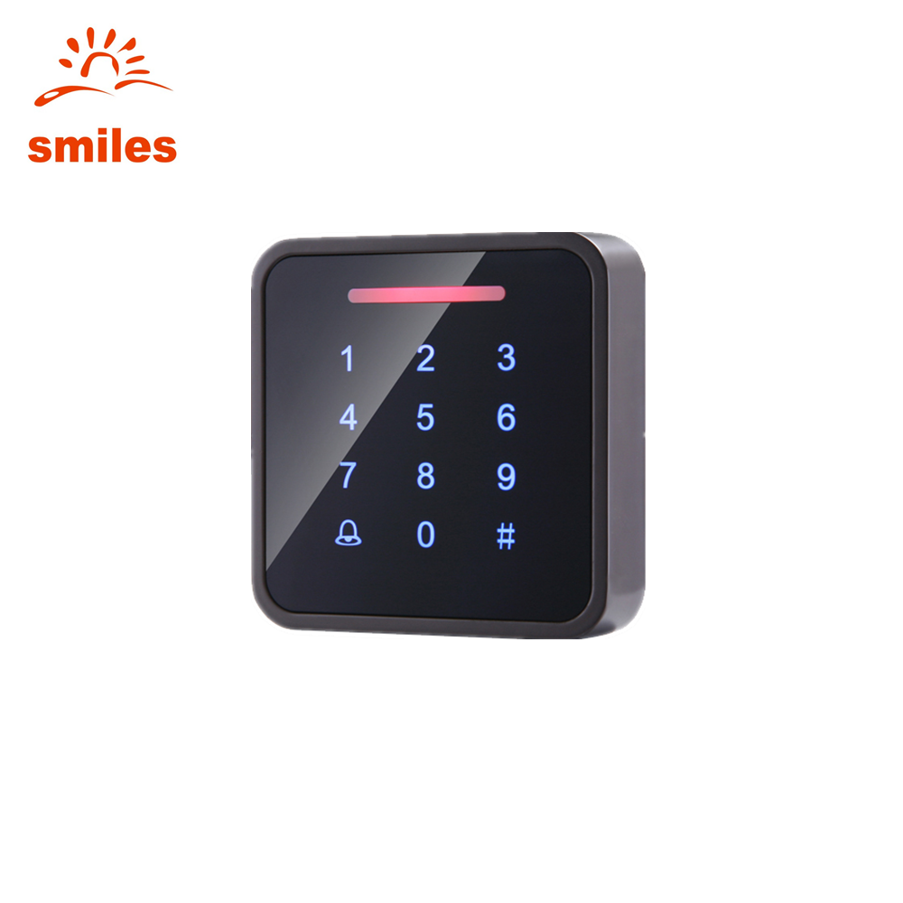 Metal Standalone Touch Door Keypads EM/Mifare Access Control 1