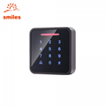 Metal Standalone Touch Door Keypads EM/Mifare Access Control 3