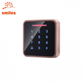 Metal Standalone Touch Door Keypads EM/Mifare Access Control 4