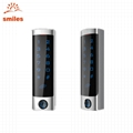 Slim Type Metal Touch Keypad RFID Access Control For Office