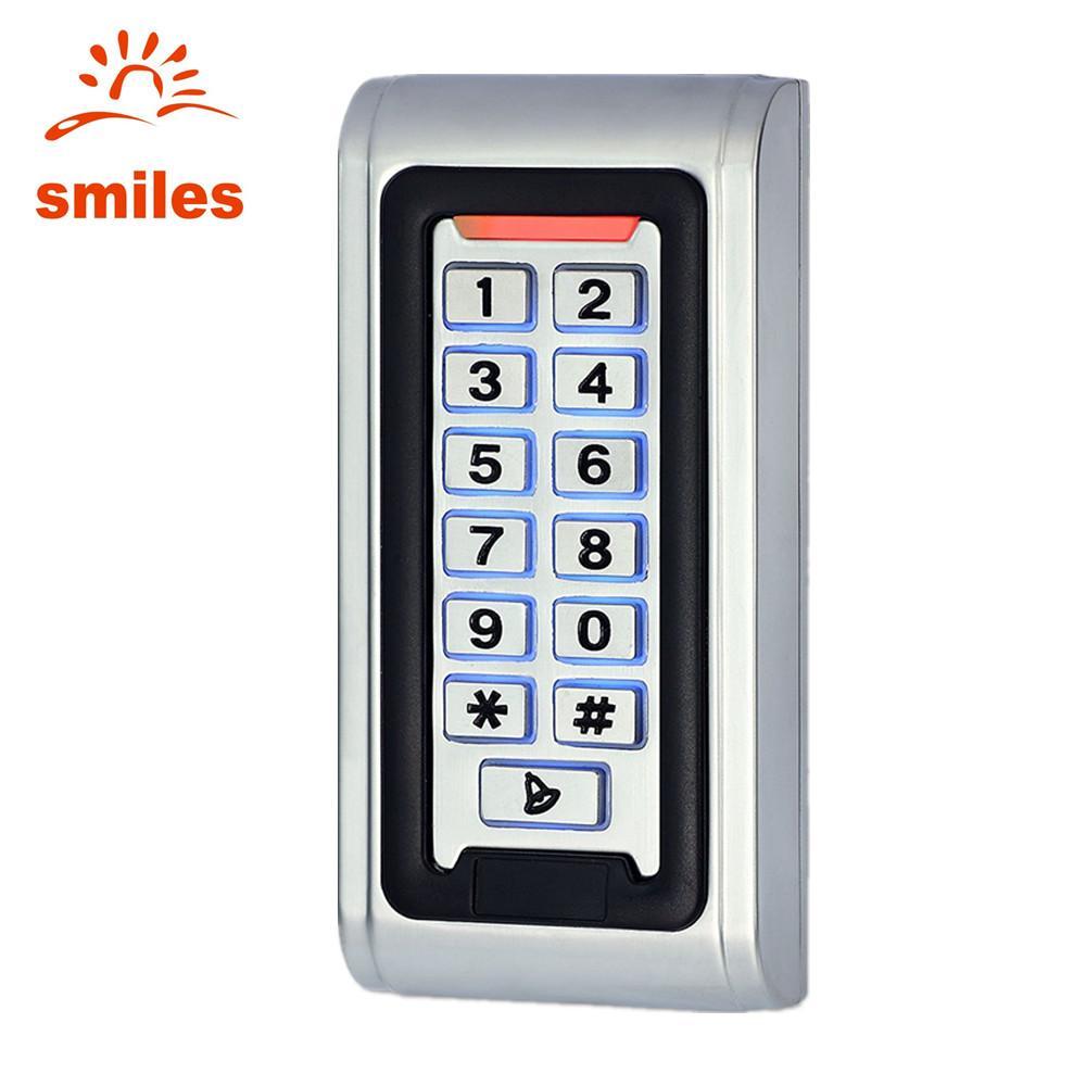 EM/Mifare Waterproof Metal Door keypad Access Control  1