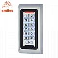 EM/Mifare Waterproof Metal Door keypad Access Control