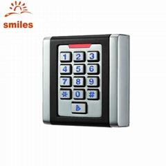 Waterproof Square Type Metal Case RFID Door Keypads Access Control Card Reader