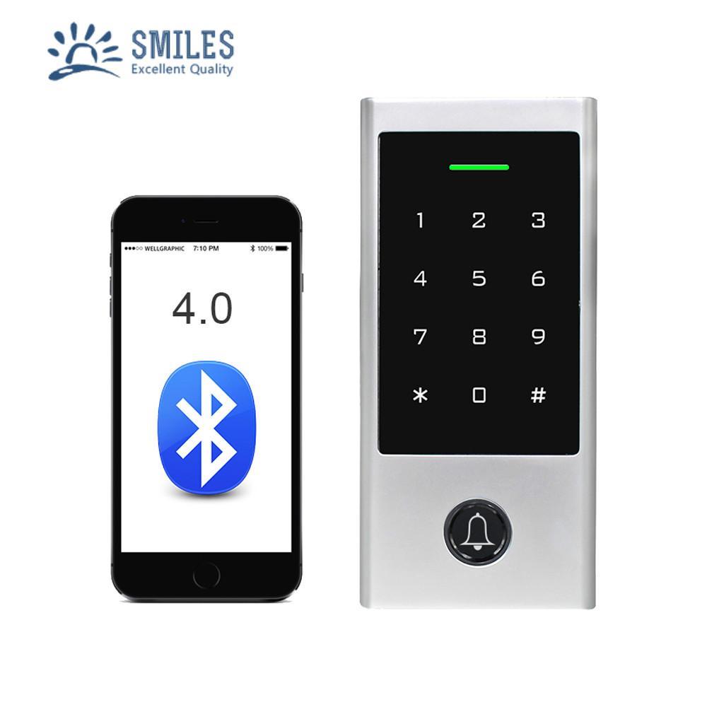 Tuya App Metal Access Control/Waterproof Bluetooth RFID Door Keypads Compatible  1