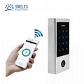 Tuya App Metal Access Control/Waterproof Bluetooth RFID Door Keypads Compatible  2