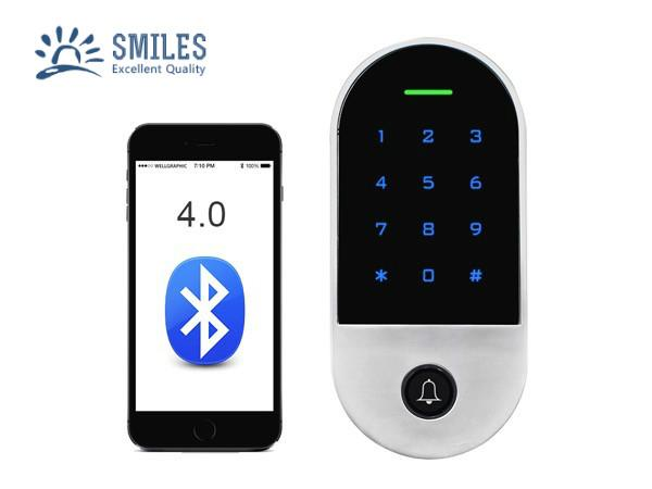 Waterproof Bluetooth Access Control With Touch Keypad And RFID Card Reader  1