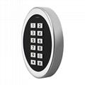Waterproof Mini Easy Door Keypad/ Metal Door Access Control 3