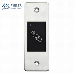 Outdoor Embedded Waterproof Metal Access Control With Card Reader Function