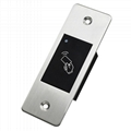 Outdoor Embedded Waterproof Metal Access Control With Card Reader Function 2