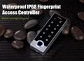Waterproof IP68 Fingerprint Access Control For Outdoor Use 3