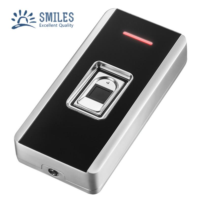 EM/Mifare Waterproof Metal Fingerprint Access Control Support RFID Card Reader 2