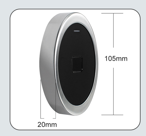 Waterproof Mini Fingerprint Access Control With RFID Card Reader Function 7