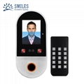 Dual Camera 2.8 Inch Face and Card Access Control with offline Time Attendance