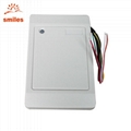 Wall Mount Wiegand rfid Card Reader For Door Access Control 2