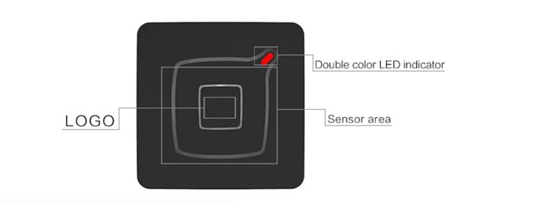 IP68 Waterproof Wiegand RFID card reader For Door Access Control System 5