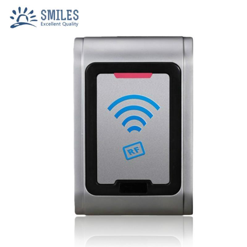 IP68 Waterproof Metal Contactless Wall Mount Wiegand RFID reader For Door Access 2