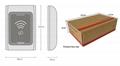 IP68 Waterproof Metal Contactless Wall Mount Wiegand RFID reader For Door Access 4