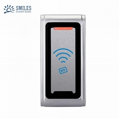 Waterproof Metal Shell Contactless 125KHZ/13.56MHZ RFID Card Reader
