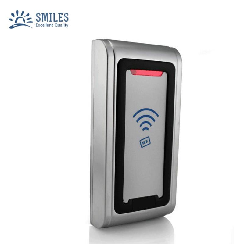 Waterproof Metal Shell Contactless 125KHZ/13.56MHZ RFID Card Reader  2