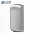 Waterproof Metal Three in One Powerful Wiegand RFID Card Reader EM/Mifare/HID  2