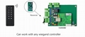 Wiegand 26-34 Bits 433MHz Wireless Keypad Reader With Receiver  4