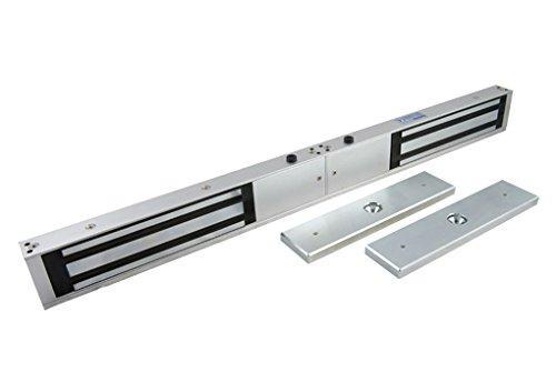 12V/24V 1200LBS Double Door Electric Magnetic Lock For Door Access Control  2