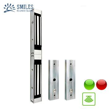 1200lbs 12V/24V Electromagnetic Lock  With LED,Sensor For Double Door 1