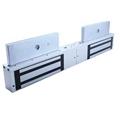12V/24V Double Door Electromagnetic Lock With Time Delay,LED,Lock Sensor 2