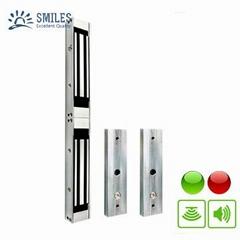 Double Door EM Lock 1200LBS With LED, Lock Sensor and Buzzer