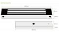 600lbs Waterproof Electromagnetic Door Lock 12V/24V For Door Access Control  5