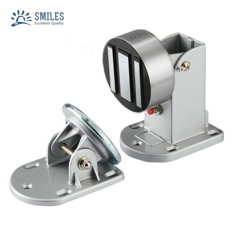 12V/24V Magnetic Door Holder With Emergency Button  1