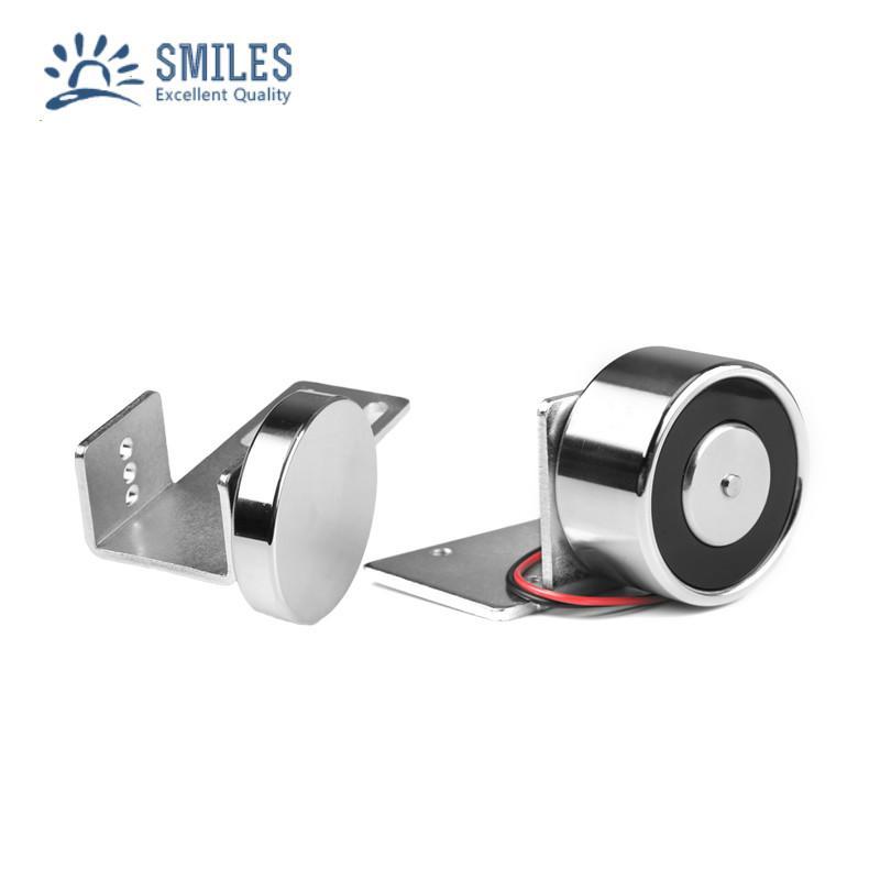 150LBS Mini Electric Magnetic Door Lock For Automatic Door 2