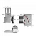 150LBS Mini Electric Magnetic Door Lock For Automatic Door 3