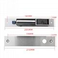 Fail Safe 12V  Electric Drop Bolt Door Lock 4