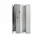 Fully Frameless Glass Door Electric Drop Bolt Lock With Adjustable Time 3