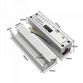 Fully Frameless Glass Door Electric Drop Bolt Lock With Adjustable Time 5