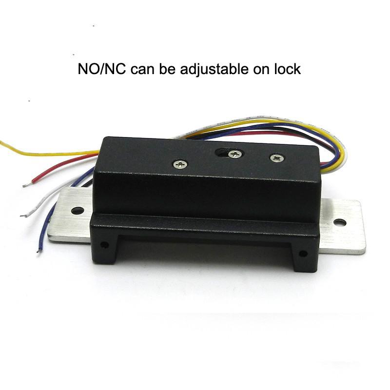 ANSI America Standard Electric Strike Door lock Adjustable NO/NC  3
