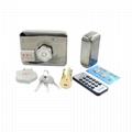 Intelligent Electronic Rim Door Locks With Remote Control, RFID Card 4