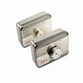 Intelligent Electronic Rim Door Locks With Remote Control, RFID Card 5