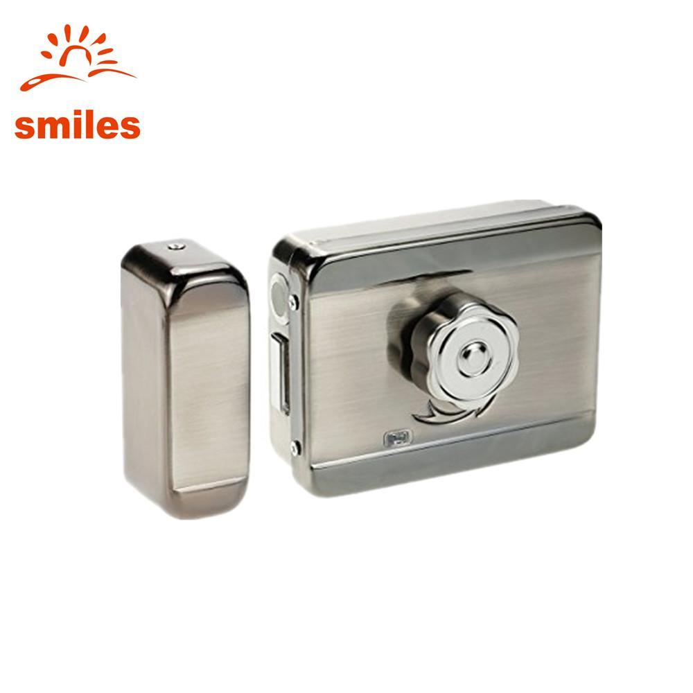 Electric Mute Door Rim Lock Outward/ Inward Opening For Intercom Security 1