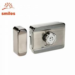 Electric Mute Door Rim Lock Outward/ Inward Opening For Intercom Security