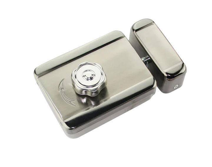 Electric Mute Door Rim Lock Outward/ Inward Opening For Intercom Security 2