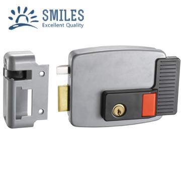 Anti-Theft Exterior Door Locks/CISA Lock With Nickle Right Open 1