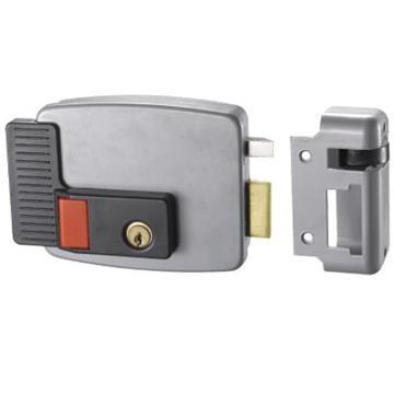Anti-Theft Exterior Door Locks/CISA Lock With Nickle Right Open 2