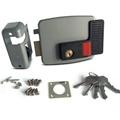 Anti-Theft Exterior Door Locks/CISA Lock With Nickle Right Open 3