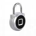 5V Fingerprint Padlock for Backpack, Suitcase, Door, Cabinet, Bike 4